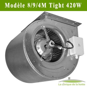 "Moteur ventilateur escargot DDM 8/9/4 Tight ""Nicotra"""
