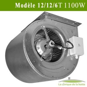 Moteur ventilateur escargot Modèle DDM 12/12/6T Nicotra