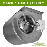 Moteur ventilateur escargot Modèle DDM 9/9/4 Tight